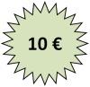 Gutschein über 10 Euro